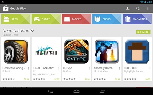 Google Play Store for PC Download