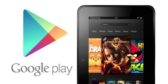 Kindle Fire Google Play Store